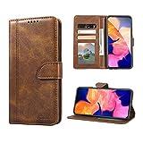 Luburs Samsung Galaxy A10 Hülle, Flip Tasche Handyhülle [Einzigartig Magnetverschluss] [Premium PU Leder] [Standfunktion] [Kartenfach] Schutzhülle Stoßfest case für Samsung Galaxy A10
