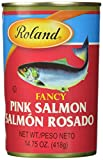 Roland Fancy Salmon, Pink, 14.75 Ounce (Pack of 6)