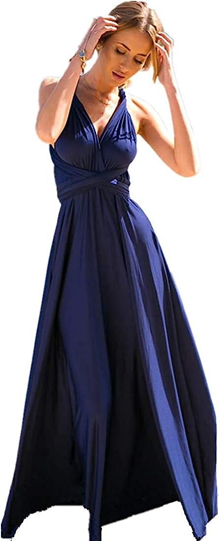 Womens Transformer Evening Max 84% OFF Dress Maxi Cocktail Wrap Convertible Bargain sale