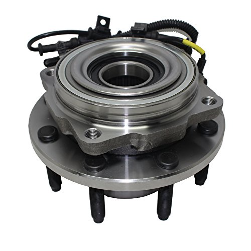 Detroit Axle 515081 Front Wheel Hub and Bearing Assembly SINGLE REAR-WHEEL 2005 2006 2007 2008 2009 2010 Ford F-250 F-350 F-450 F-550 4WD