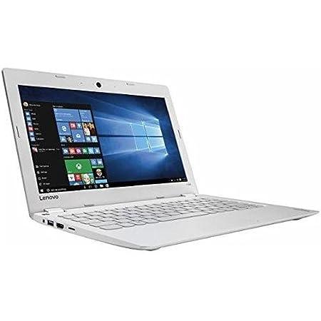 Lenovo Ideapad 110s 11.6 inch HD Flagship White Laptop PC  Intel Celeron N3060 1.60 GHz Dual-Core  2GB RAM  32GB eMMC   Windows 10  Office 365 Personal
