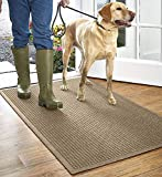 Orvis Grid Recycled Water Trapper Mat/Only 1'10' X 2'11', Camel