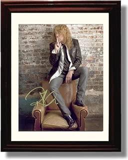 Framed Robert Plant Autograph Replica Print