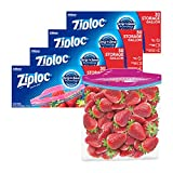 Ziploc Storage Bags with New Grip 'n Seal Technology, For Food, Sandwich,...