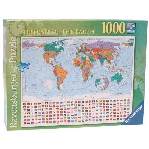 Ravensburger 7195 Ritratto della terra - Puzzle da 1000 pezzi