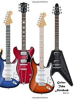 Guitar Tabs Notebook