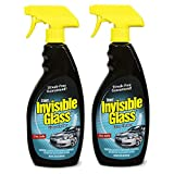 Invisible Glass 92164-2PK 22-Ounce Premium Glass Cleaner and Window Spray for Auto and Home Provides a Streak-Free Shine on Windows, Windshields, and Mirrors is Residue and Ammonia Free and Tint Safe, 2-pack