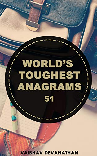 World's Toughest Anagrams - 51 (English Edition)