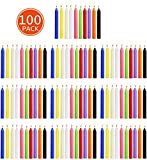 Zoom IMG-1 saixuan candele 100 colori assortiti