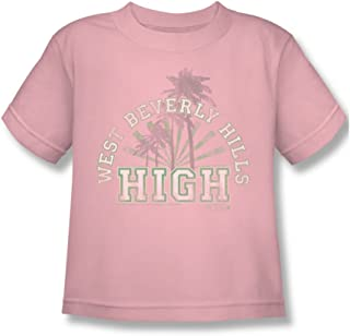 90210 Little Boys West Beverly Hills High T-Shirt in Pink