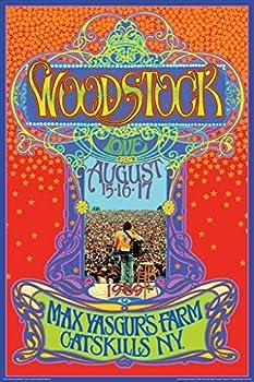 Aquarius NMR Woodstock Max Yasgurs Farm Concert Poster 24x36 Inch