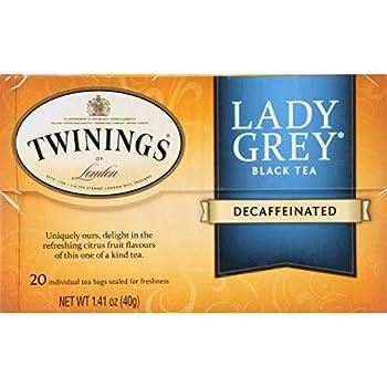 Twinings Decaffeinated Lady Grey Tea Bags - 20 Tea Bags