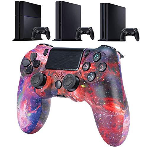 QLOVE Mando para PS4, Inalámbrico Mando para Playstation 4/Pro/Slim/PC Inalámbrico Controlador Wireless Bluetooth...