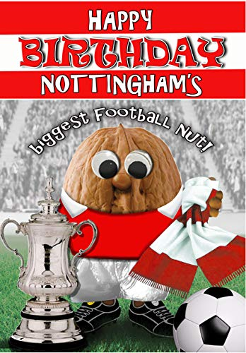 Birthday Card – Nottingham Forest - Football Sports Nut