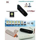 CHIAVETTA INTERNET KEY 3G MODEM USB ANTENNA UNIVERSALE PER ANDROID TABLET PC...