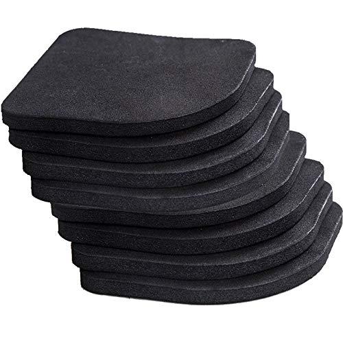 Juego de 8 almohadillas antivibración YUTOU EVA para amortiguar el ruido, de goma, para lavadora, frigorífico, electrodoméstico, protección contra arañazos
