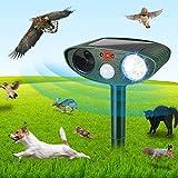 Best Ultrasonic Dog Repellers - Ultrasonic Cat Repellent, Dog Cat Repellent, Solar Waterproof Review