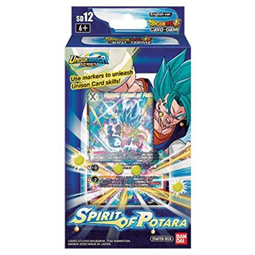 BANDAI Dragon Ball Super TCG Spirit of Potara Starter Deck INGLÉS