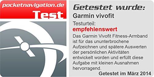 Garmin Vivofit Fitness Band - Black w/o ant stick (Renewed)