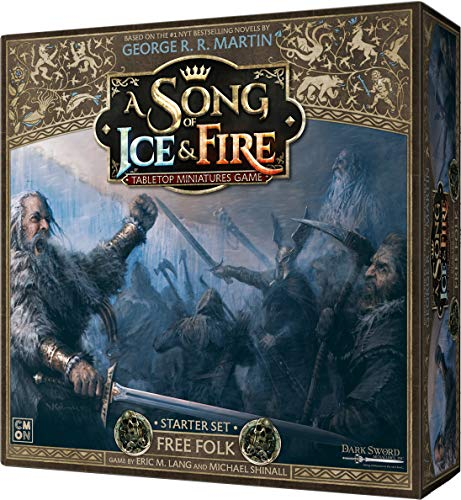 A Song of Ice & Fire Tabletop Miniatures Game Free Folk Starter Set | Strategy Game for Teens and Adults | Ages 14+ | 2+ Players | Average Playtime 45-60 Minutes | Made by CMON