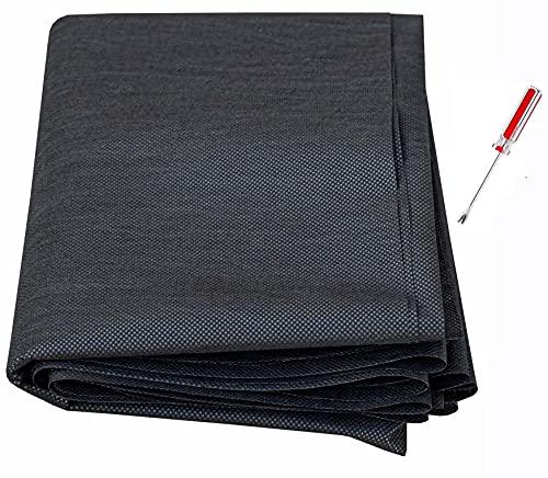 Tissu d'ameublement de rechange pour canapés, chaises, coffre à ressorts, 75 g, doublure non tissée, 1,6 x 3 m