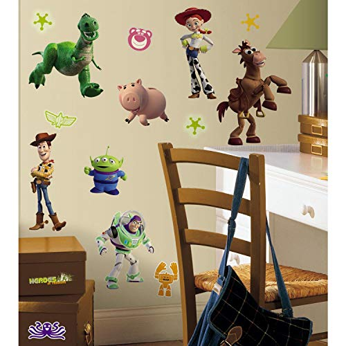 Amazon - RoomMates Toy Story 3 Glow In The Dark Peel and Stick Wall Decals $6.09