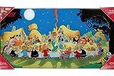 SD toys - Poster En Verre Asterix - Banquet Final 60X30cm -