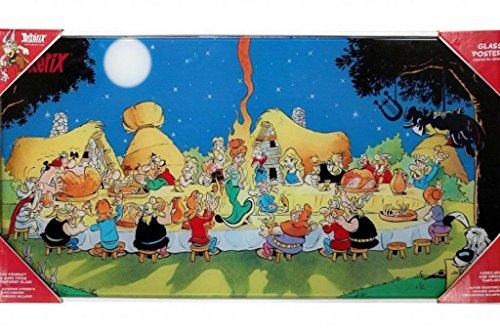 SD toys - Poster En Verre Asterix - Banquet Final 60X30cm - 8436546899532