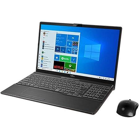 富士通 15.6型ノートパソコン FMV LIFEBOOK AH77/E3 - ブライトブラック(Core i7/ 8GB/ 1TB SSD)Microsoft Office Home & Business 2019 FMVA77E3B
