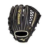 Mizuno GMVP1275PSE8 MVP Prime SE Outfield Baseball Glove 12.75', Right Hand Throw, BLACK-GOLD