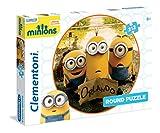 Clementoni - Puzzle Redondo, Minions, 212 Piezas (214044)