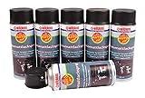 Wilckens Auto Fit Spray 400 ml Protección Antioxidante Llantas barniz zinc Aluminio Spray, color: Auto Fit Negro