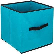 Pudełko do przechowywania/składane pudełko z materiału do regałów i szafek Pudełko do sortowania dokumentów, zabawek, arty...