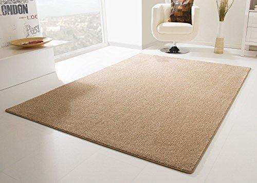 Designer Teppich Modern Cambridge in Sand, Größe: 300x400 cm