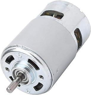 高速775モーター、耐久性のあるボールベアリングモーター、前部および後部ねじ用高回転速度5Mmシャフト直径