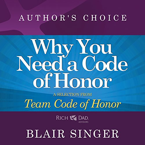 Why Do You Need a Code of Honor? audiobook cover art
