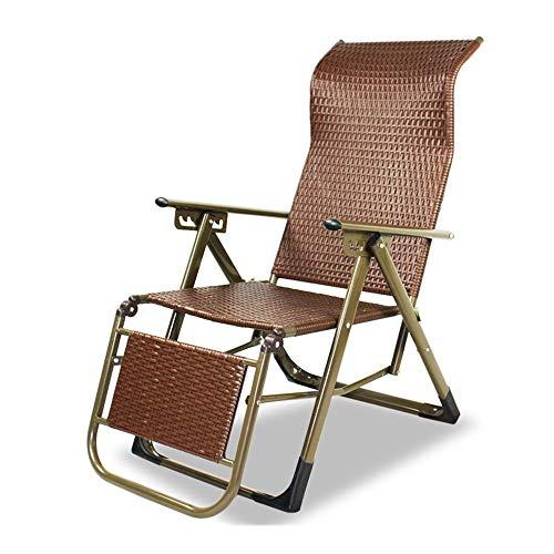 alvyu Paseo Silla Plegable,Silla Mecedora Plegable Zero Gravity Garden Chairs, Tumbona reclinable para jardin Patio Lawn Cotton extraible - Interior y Exterior (Color : 06),02