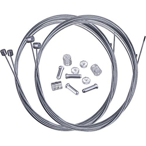 Hotop Mountain Bike Bremskabel Gear Schaltzuge and Cable End Crimps Kit