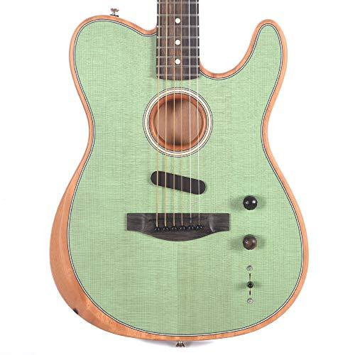 Fender American Acoustasonic Telecaster Surf Green w/Premium Gig Bag