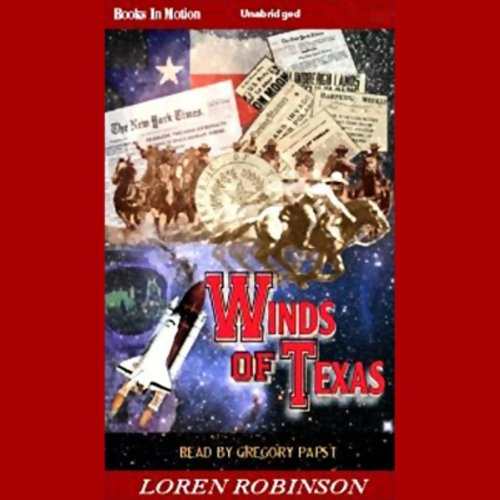 Winds of Texas audiobook cover art