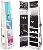 10 Best Jewelry Cabinet with Stand Armoires