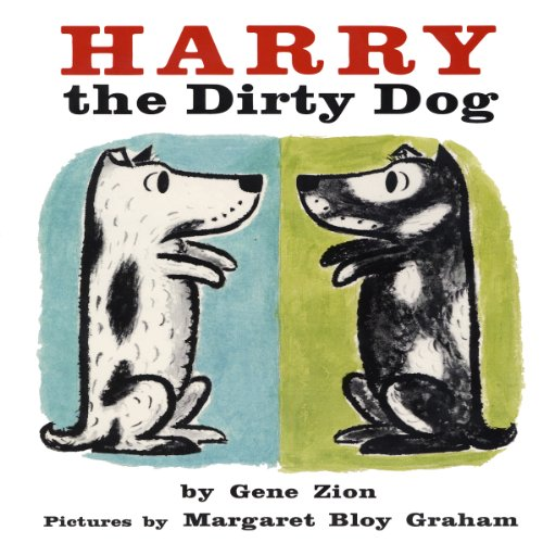 Harry the Dirty Dog audiobook cover art