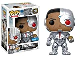 Figura Cyborg Exclusive 212 Funko POP. Vinyl Justice League