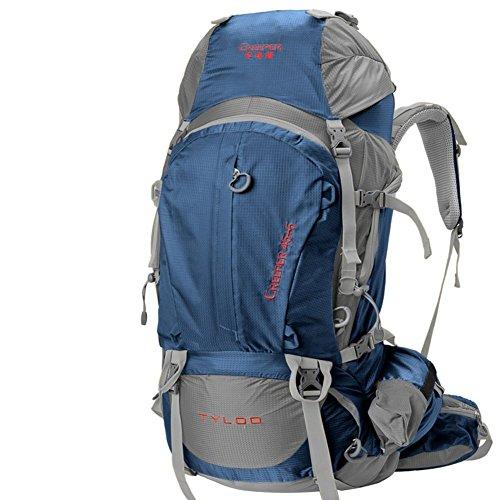 Sincere® Package / / Portable sac / sac à dos / de Voyage en plein air Sacs à dos / Ultraléger extérieure épaule d'alpinisme 50L bleu 50L