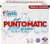 Puntomatic Detergente Pastilla Ropa Blanca - 24 Lavados