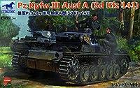 ブロンコモデル 1/35 ドイツ 3号戦車A型 Sd.Kfz.141 プラモデル CB35134