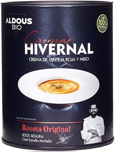 Organic & Ready To Eat   Crema Ecológica De Lenteja Roja y Miso   Receta Gourmet De Chef Estrella Michelín   Real Food - Ingredientes Reales   Sin Conservantes - Sin Colorantes - Sin Aditivos
