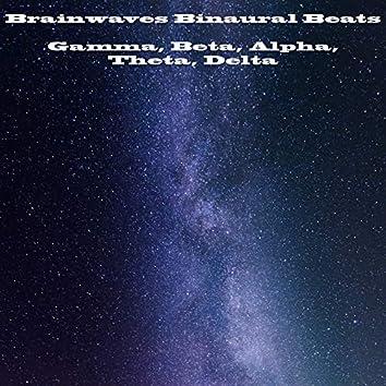 Brainwaves Binaural Beats: Gamma, Beta, Alpha, Theta, Delta