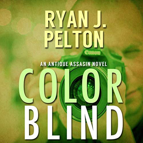Color Blind audiobook cover art