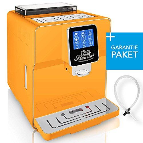 ☆ONE TOUCH☆ 50€ sparen✔ Kaffeevollautomat + RundumSorglosPaket (Garantiepaket)✔ 1 Thermoglas Gratis✔ CAFE BONITAS✔ Newstar neues Modell Orange✔ Touchscreen✔ Timer✔ 19 Bar✔ Kaffeeautomat✔ Latte Macchiato✔ Kaffee✔ Espresso✔ Cappuccino✔ heißes Wasser✔ Milchschaum✔